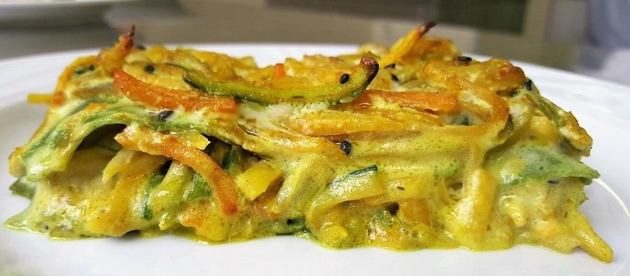 Lasagne di piselli vegetariane