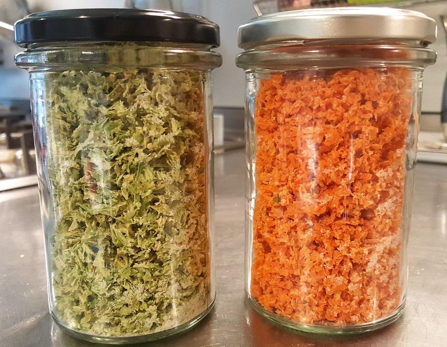 Sali di sedano e carote