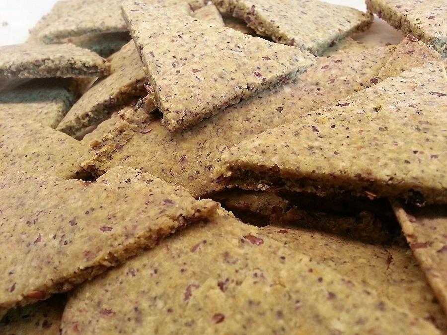 Crackers di miglio e semi