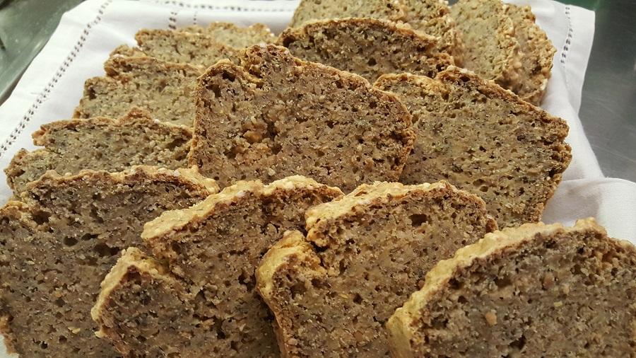 Pane di ceci alla curcuma
