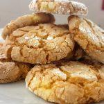 Cookies al limone e mandorle