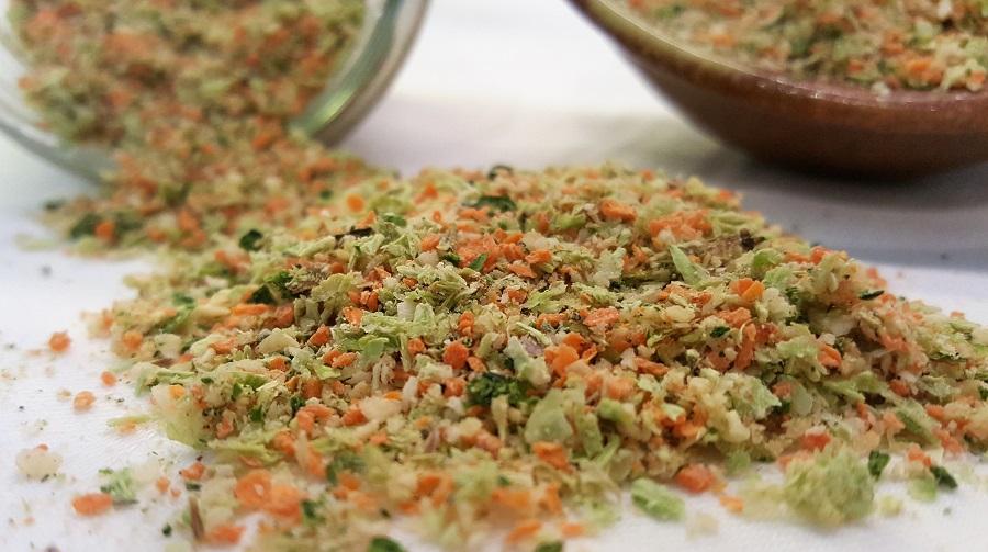 Dado vegetale essiccato