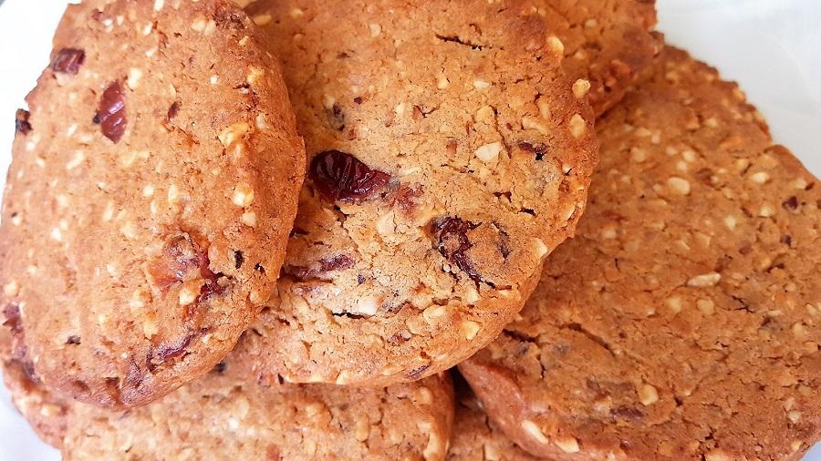 Cookies ai cramberries