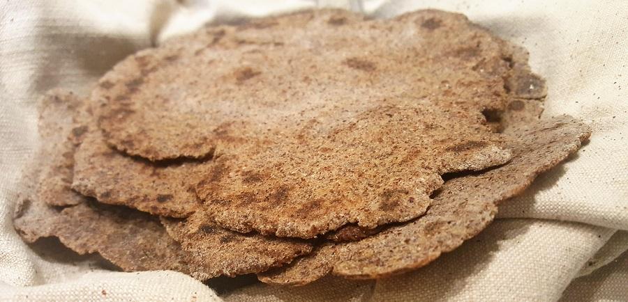 Chapati di quinoa
