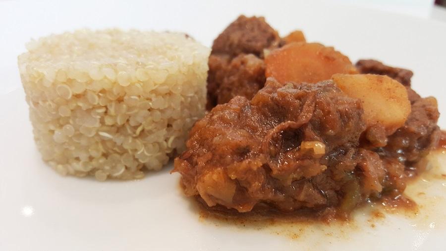 Gulash alla goriziana con quinoa