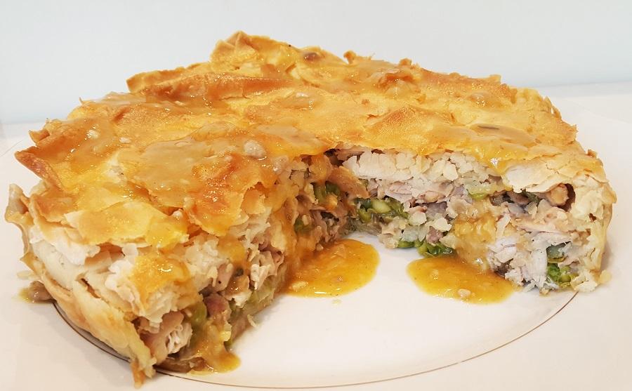 Torta salata pasquale lombarda