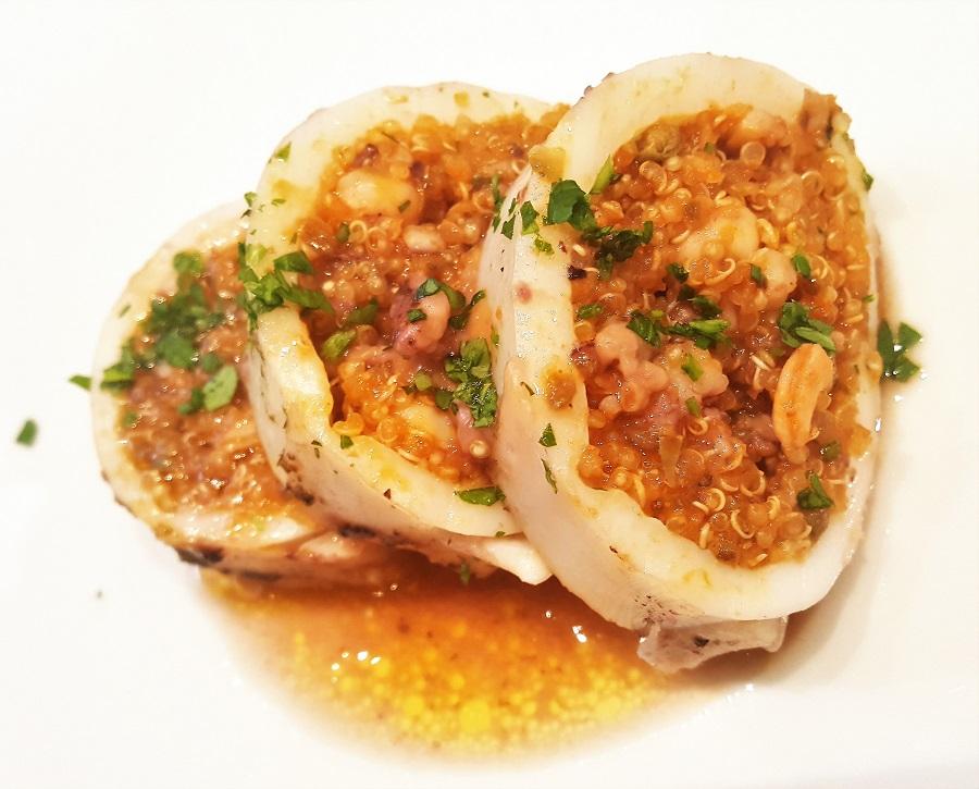 Calamari ripieni di quinoa
