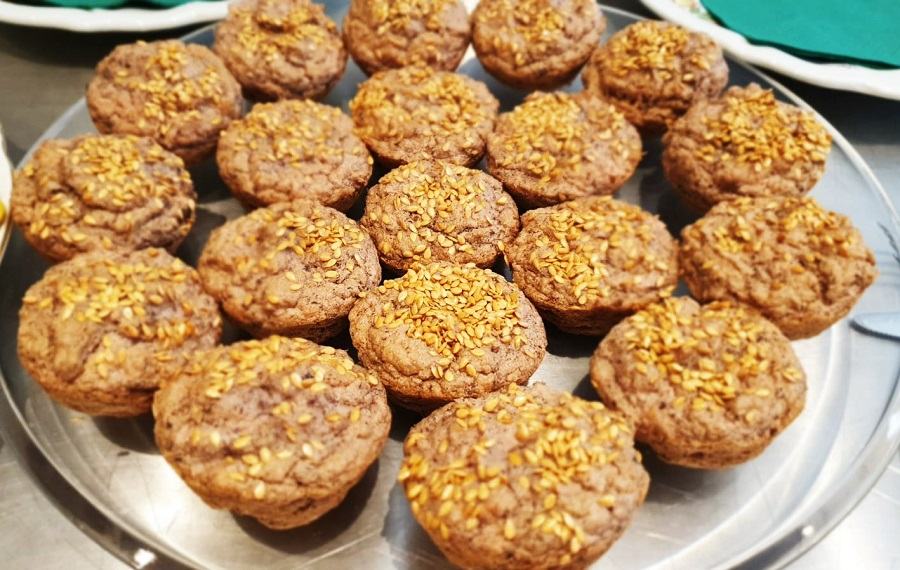 Muffin di fagioli rossi e sgombro
